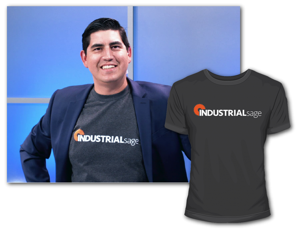 You could win a free t-shirt on IndustrialSage by submitting questions for the show!