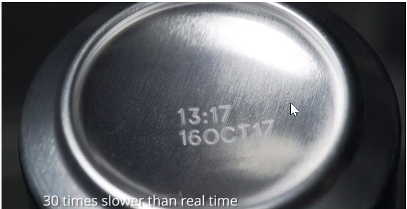 30 times slower than real time
